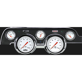 Classic Instruments Classic Instruments 67-68 Ford Mustang Instruments - White Hot