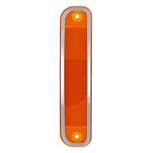 United Pacific 15 LED Front Side Marker Light W/ SS Trim - 73-80 Chevy & GMC Truck - Amber - 110712