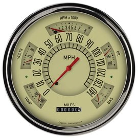 Classic Instruments Classic Instruments 49-50 Chevy Car Instruments Tan