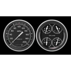 Classic Instruments Classic Instruments 51-52 Chevy Car Instruments - AutoCross Gray