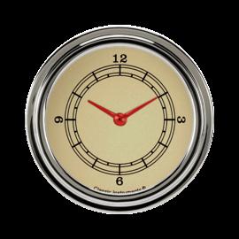 """Classic Instruments Classic Instruments Vintage - 2 5/8"""" Clock - VT92SLF"""