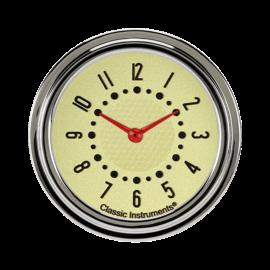 Classic Instruments Classic Instruments 55-56 Chevy Bel Era III Clock Tan