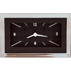 Classic Instruments Classic Instruments 57 Chevy Clock - Black - CH57CLB