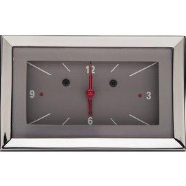 Classic Instruments Classic Instruments 57 Chevy Clock - Gray - CH57CLG