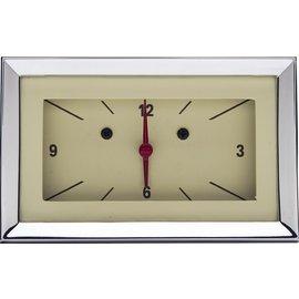 Classic Instruments Classic Instruments 57 Chevy Clock - Tan - CH57CLT