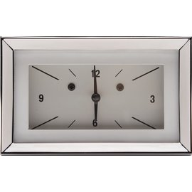 Classic Instruments Classic Instruments 57 Chevy Clock - White - CH57CLW