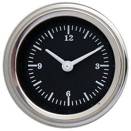 """Classic Instruments Classic Instruments Hot Rod  - 2 1/8"""" Clock - HR90SLF"""