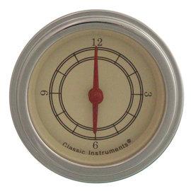 """Classic Instruments Classic Instruments Vintage  - 2 1/8"""" Clock - VT90SLF"""
