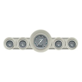 Classic Instruments Classic Instruments 59-60 Chevy Car Instruments - Silver Gray