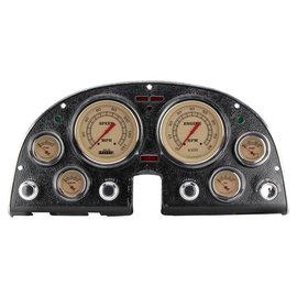 Classic Instruments Classic Instruments 63-67 Corvette Instruments - Vintage - Std. Speedo - CO63VT