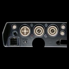 Classic Instruments Classic Instruments 70-72 Chevelle SS Instruments - Nostalgia VT - Std. Speedo - CV70NT