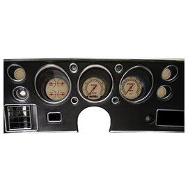 Classic Instruments Classic Instruments 70-72 Chevelle SS Instruments - Vintage - Std. Speedo - CV70VT