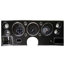 Classic Instruments Classic Insturments 70-72 Chevelle SS Instruments - AutoCross Gray