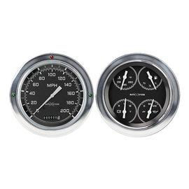 Classic Instruments Classic Instruments 54-55 Chevy Truck Instruments - AutoCross Gray