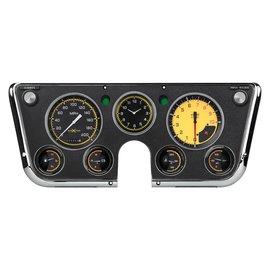 Classic Instruments Classic Instruments 67-72 Chevy Truck Instruments - AutoCross Yellow
