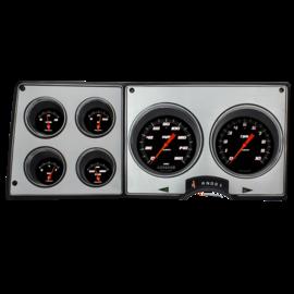 Classic Instruments Classic Instruments 73-87 Chevy Truck Instruments - Velocity Series Black - CT73VSB