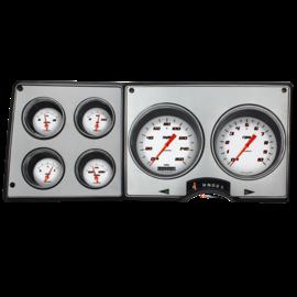 Classic Instruments Classic Instruments 73-87 Chevy Truck Instruments - Velocity Series White - CT73VSW