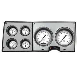 Classic Instruments Classic Instruments 73-87 Chevy Truck Instruments - Classic White - CT73WH