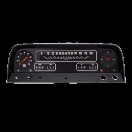 Classic Instruments Classic Instruments 64-66 Chevy Truck Instruments - Black - CT64B