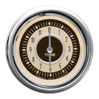"Classic Instruments 2 1/8"" Clock - Nostalgia - NT90SHC"