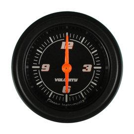 "Classic Instruments 2 1/8"" Clock - Velocity Black - VS90BBLF"