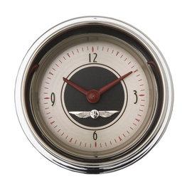 "Classic Instruments 2 1/8"" Clock - All American Nickel - AN90SHC"
