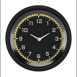 "Classic Instruments 3 ⅜"" Clock - AutoCross Yellow - AX93YBLF"