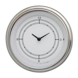 "Classic Instruments 3 ⅜"" Clock - Classic White - CW93SLF"