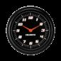 "Classic Instruments 2 ⅝"" Clock - Velocity Black Series - VS92BBLF"