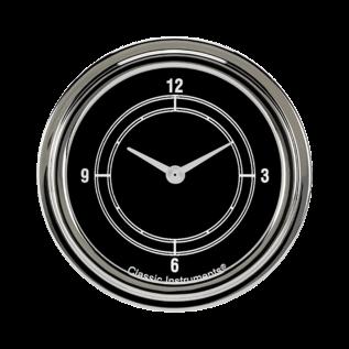 "Classic Instruments 2 ⅝"" Clock - Traditional - TR92SLF"