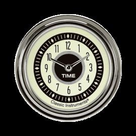 "Classic Instruments 2 ⅝"" Clock - Nostalgia Series - NT92SLC"