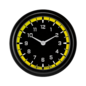 "Classic Instruments 2 ⅝"" Clock - AutoCross Yellow - AX92YBLF"
