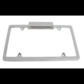 RPC License Frame w/Light - Chrome - S6071