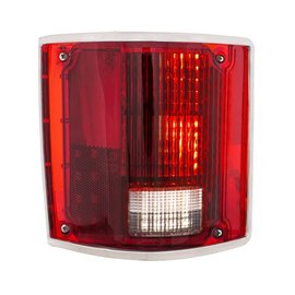 United Pacific 73-87 Chevy & GMC Truck LED Sequential Tail Light w/Trim