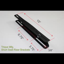 Trique Manufacturing Seat Riser Brackets - Universal  - Pair