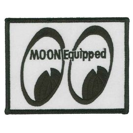 Mooneyes ME52 Moon Equipped Rectangular Patch
