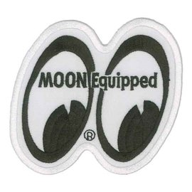 Mooneyes ME52A MOON Equipped Logo Patch