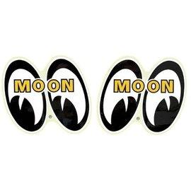 Mooneyes Mooneyes Logo Stickers - Pair
