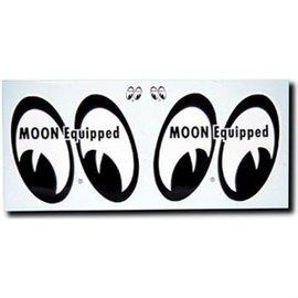 Mooneyes MOON Equipped Eyes Stickers - Pair