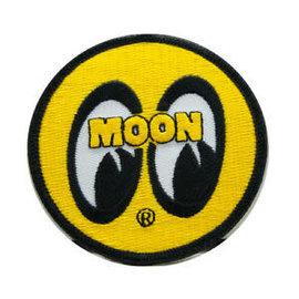 "Mooneyes MOON Logo Round Patch - 3"""