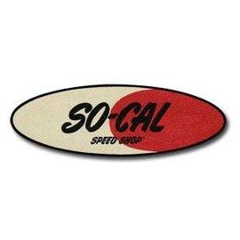 """So-Cal Speed Shop SC55 SO-CAL Speed Shop Original Oval Logo Patch - 12"""""""