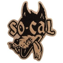 So-Cal Speed Shop SC58 SO-CAL Speed Shop Classic Wolf Chenille Patch