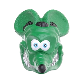 Mooneyes Antenna Topper - Rat Fink Face  - RAF565GR