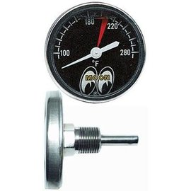 "Mooneyes Water Temp Gauge 2 1/2"" Liquid Filled - Mooneyes - MPG109LF"