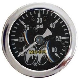 Mooneyes Mooneyes Pressure Gauge 0-60 LBS - MPG115LF
