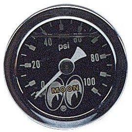 Mooneyes Mooneyes Pressure Gauge 0-100 LBS - MPG120LF