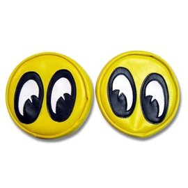 Mooneyes Headlight Covers - Mooneyes Yellow Eyes