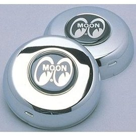 Mooneyes Horn Button - Moon Logo - GS8027