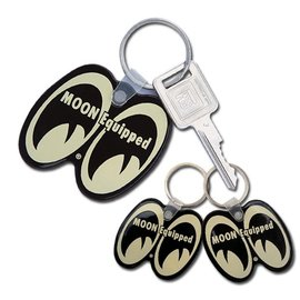 Mooneyes Key Chain - Moon Equipped - Black