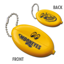 Mooneyes Key Chain - Mooneyes Yellow Oval Coin Case